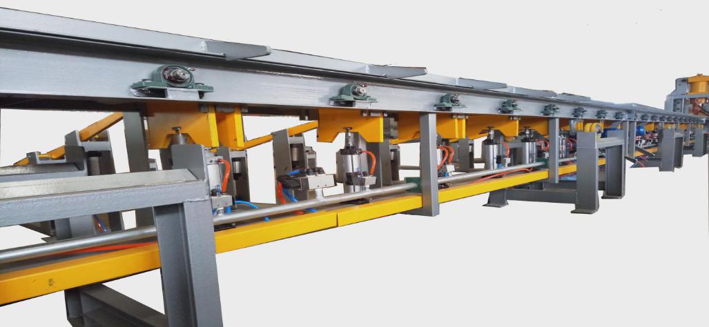 全自动钢筋剪切线的加工流程